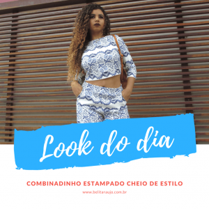 Look do Dia – Short e Cropped